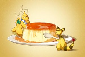 Flan by LazyAmphy
