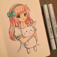 Copic doodle by strawberrycake