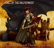 Hiccup: King of the Wilderwest by inhonoredglory