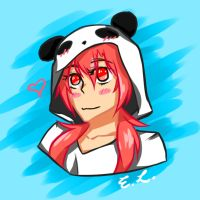 Pandahoodie by DoYouLikeKetchup