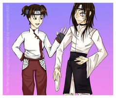 Collab. Neji and Tenten by imaginary-ang3l