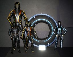 Tron- Legacy 'Large Figures' by CyberDrone