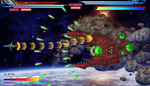 Shmup mock up screen by JeanRoux