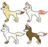 Contest Prize [ Pups #1 ] by opadopts