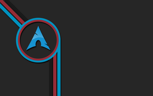 Clean Arch Linux wallpaper [1920x1200] by JeSuisNerd