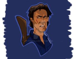 Ash (Evil Dead)  by thomsolo