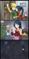 holidays with max+mariam by chrissichan
