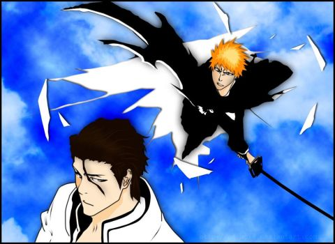 Bleach cover 387 by naruble