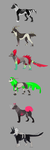 Fantasy Wolf ADOPTS CLOSED by Leo-Adoptables