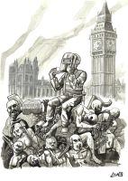 Exodus in London by didism