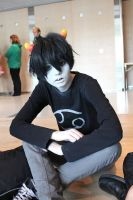 Karkat nubs mcshouty Vantas by felilovespasta