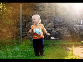 Enjoying the childhood by Andenne
