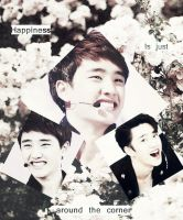 Happiness is just around the corner (D.O) by SuperDetectiveTao