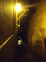 lighted alley by DIGITALkRAZE