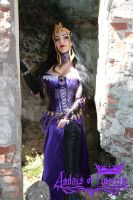 Liliana of the Veil cosplay by Andais92