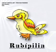 Pokemon peruano - Rubipilin by KrlosKmask