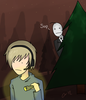 SLENDER- Cry and Pewdie by Katilis401