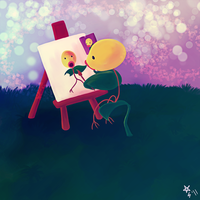Bellsprout Self Portrait by YooMe