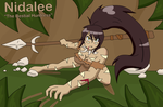 Nidalle 'The Bestial Huntress' by TheMaskofaFox