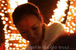 the girl in the glo trees ... by pingomatic