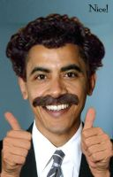 Borat Obama by Jackbyte