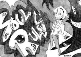 Here maddness rules, here... by Maka-A