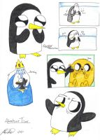 Adventure Time - Gunter Moments by PrntScr