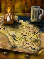 Old map by Barbarian--Warrior