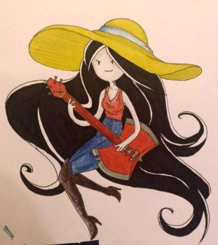 Marceline The Vampire Queen by rawrrawrrou