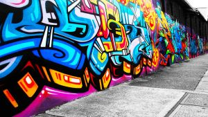 Graffiti Wallpaper 2 by alekSparx