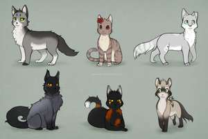TGB: cat batch by Snowwire