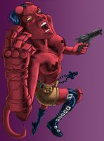 Hellgirl Colour by Dreee