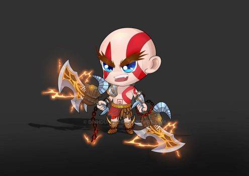 Kratos by DinhDung92