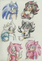 HEDGIES :D by AskSonic