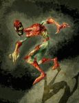 Zombie Spiderman by TedKimArt