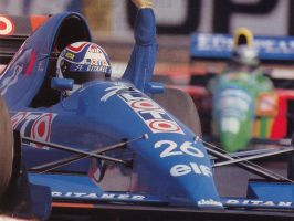 Philippe Alliot (Belgium 1990) by F1-history