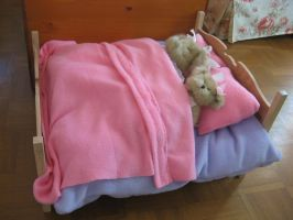 Bears Bed Finshed by fixinman