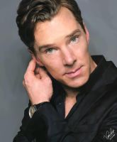 Benedict Cumberbatch by chucker19