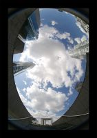 La Defense Fisheye by Blofeld60