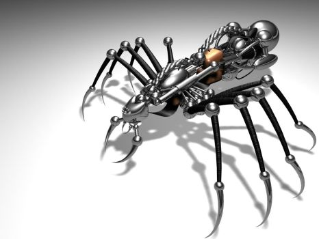 Desk Spider by ice-pr
