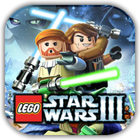 Lego Star Wars CW Game Icon by Wolfangraul