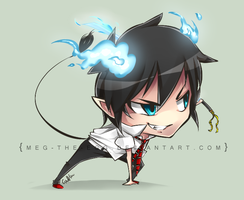 Rin Chibi by Meg-the-egg