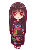 Enma ai sticker by LaGomita