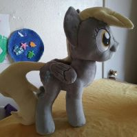 Derpy hooves plush for sale by SiamchuchusPlushies