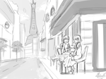 Parisian Summer by Lubrian
