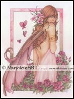 Rose by MarjoleinART