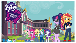 My Little Pony : Equestria Girls Tv Series (poster by trungtranhaitrung