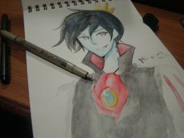 Marshall Lee the Vampire King by ouranhalfkewl