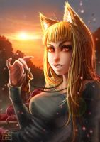 Wolf and Spice: Holo by Kate-FoX