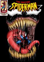 spiderman variant cover by rubioworld